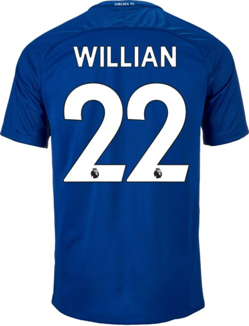 Nike Kids Willian Chelsea Home Jersey 2017-18
