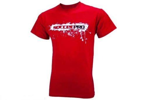 SoccerPro Logo TShirt  Red