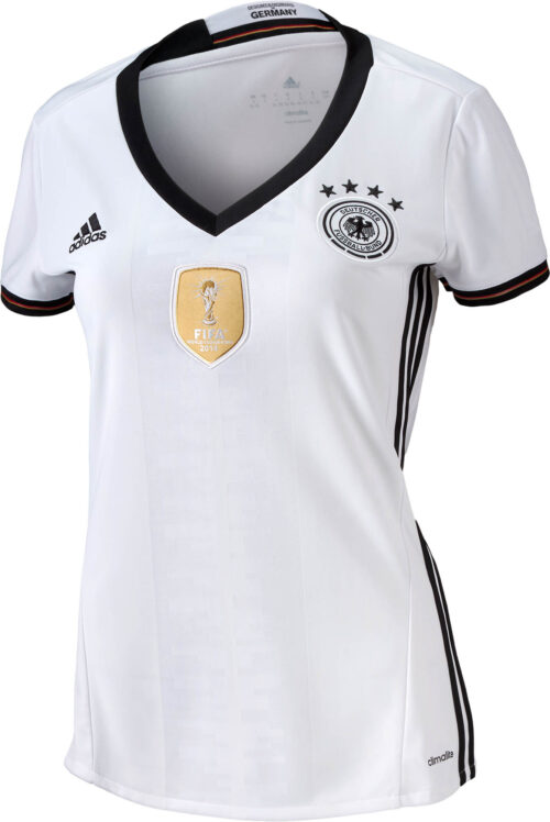 adidas Womens Germany Home Jersey 2015-2016 NS
