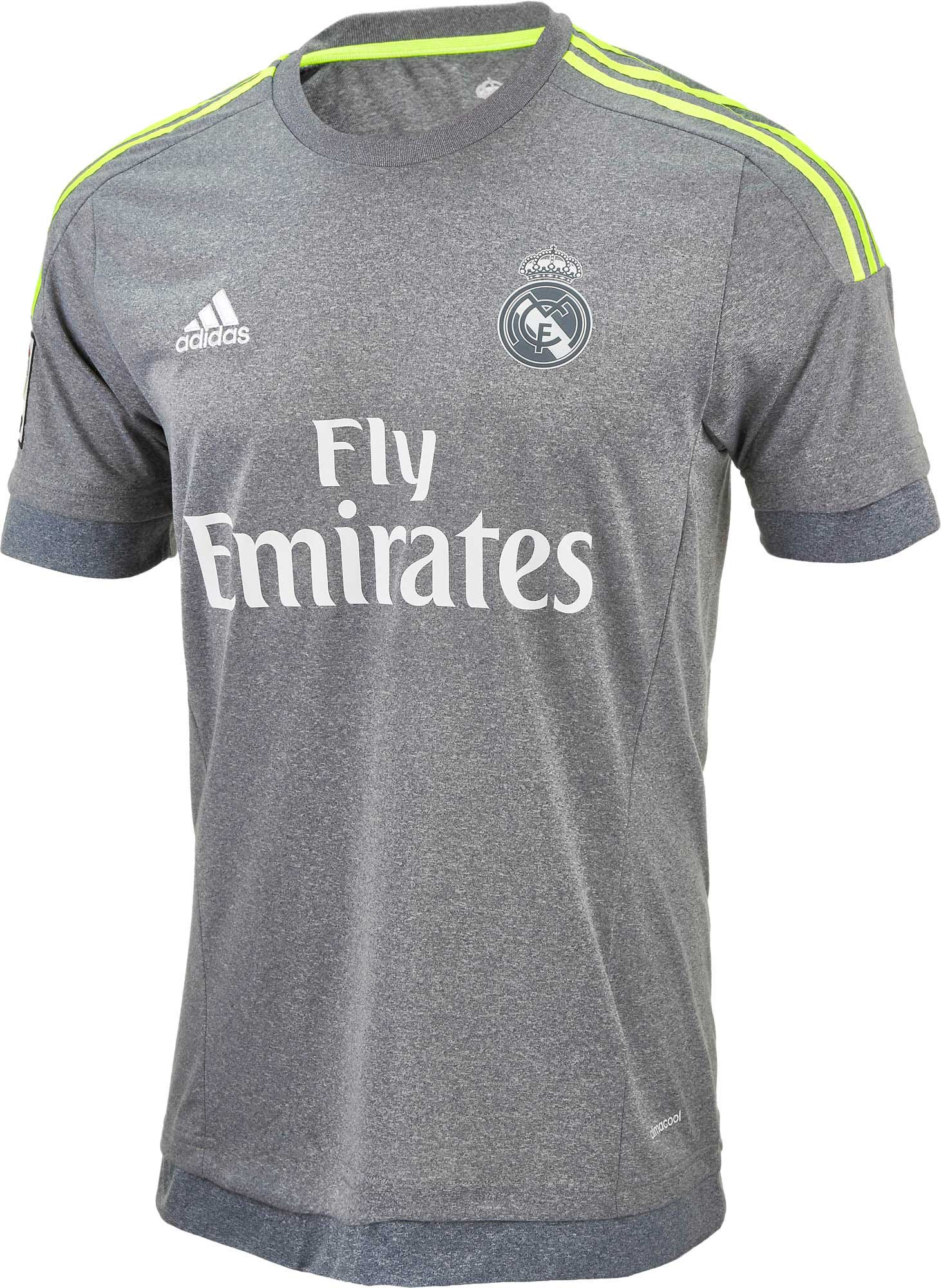 adidas Youth Real Madrid Away Jersey - 2015 16 Kids Madrid Jerseys af412f683