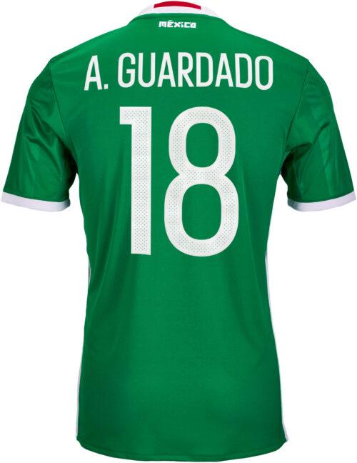 adidas Andres Guardado Mexico Home Jersey 2016-17