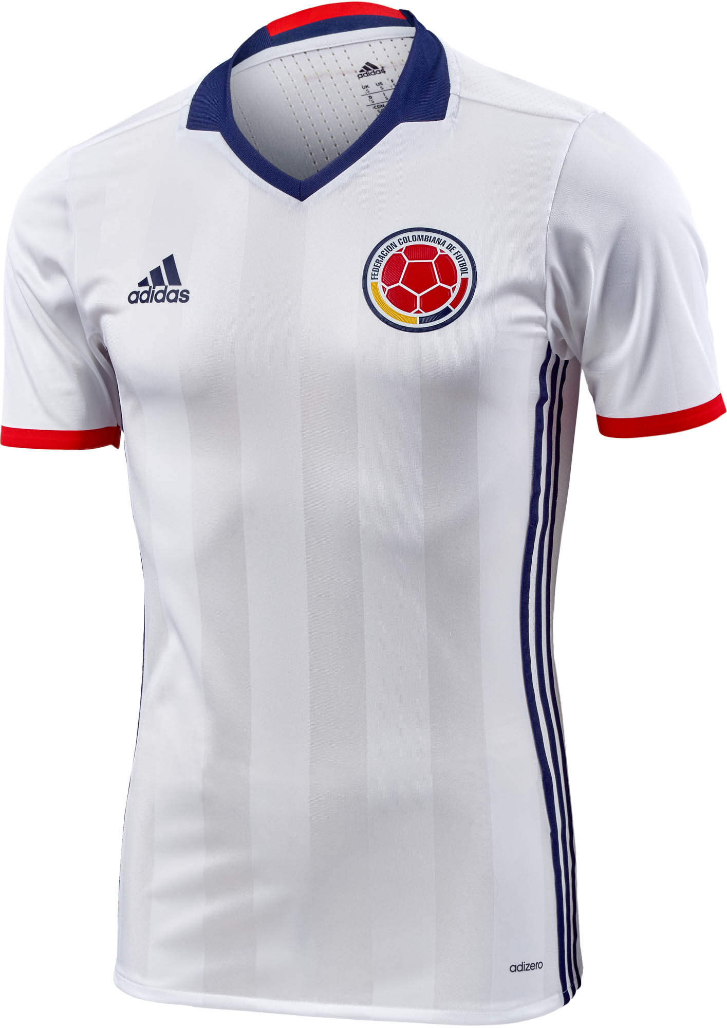adidas Colombia Authentic Home Jersey - 2016 Colombia Jerseys 6349d1f15