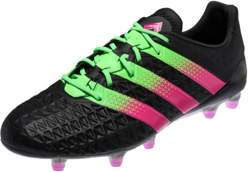 adidas ACE 16.1 FG – Black/Solar Green