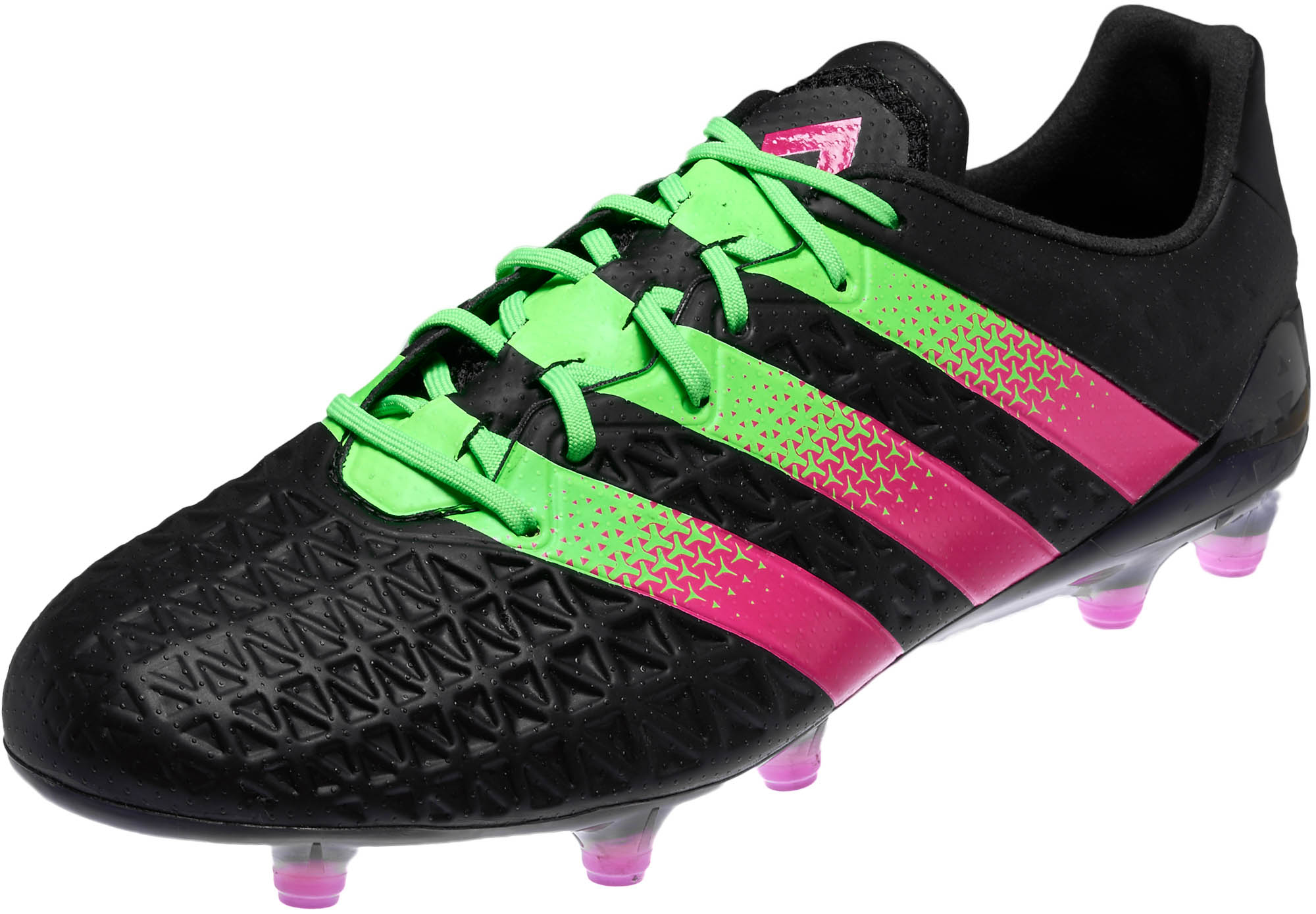 check out 7bb94 f2928 adidas ACE 16.1 FG – Black Solar Green