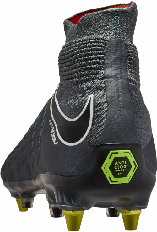 Nike Hypervenom Phantom 3 Elite DF SG-Pro (ACT) – Dark Grey/Total Orange