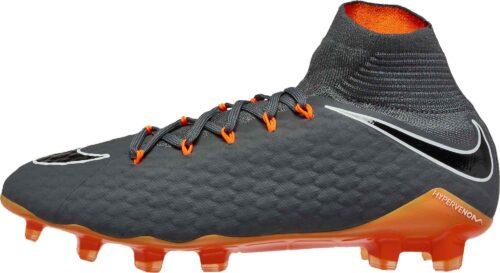 Nike Hypervenom Phantom 3 Pro DF FG – Dark Grey/Total Orange