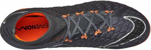 Nike Kids Hypervenom Phantom 3 Elite DF FG – Dark Grey/Total Orange