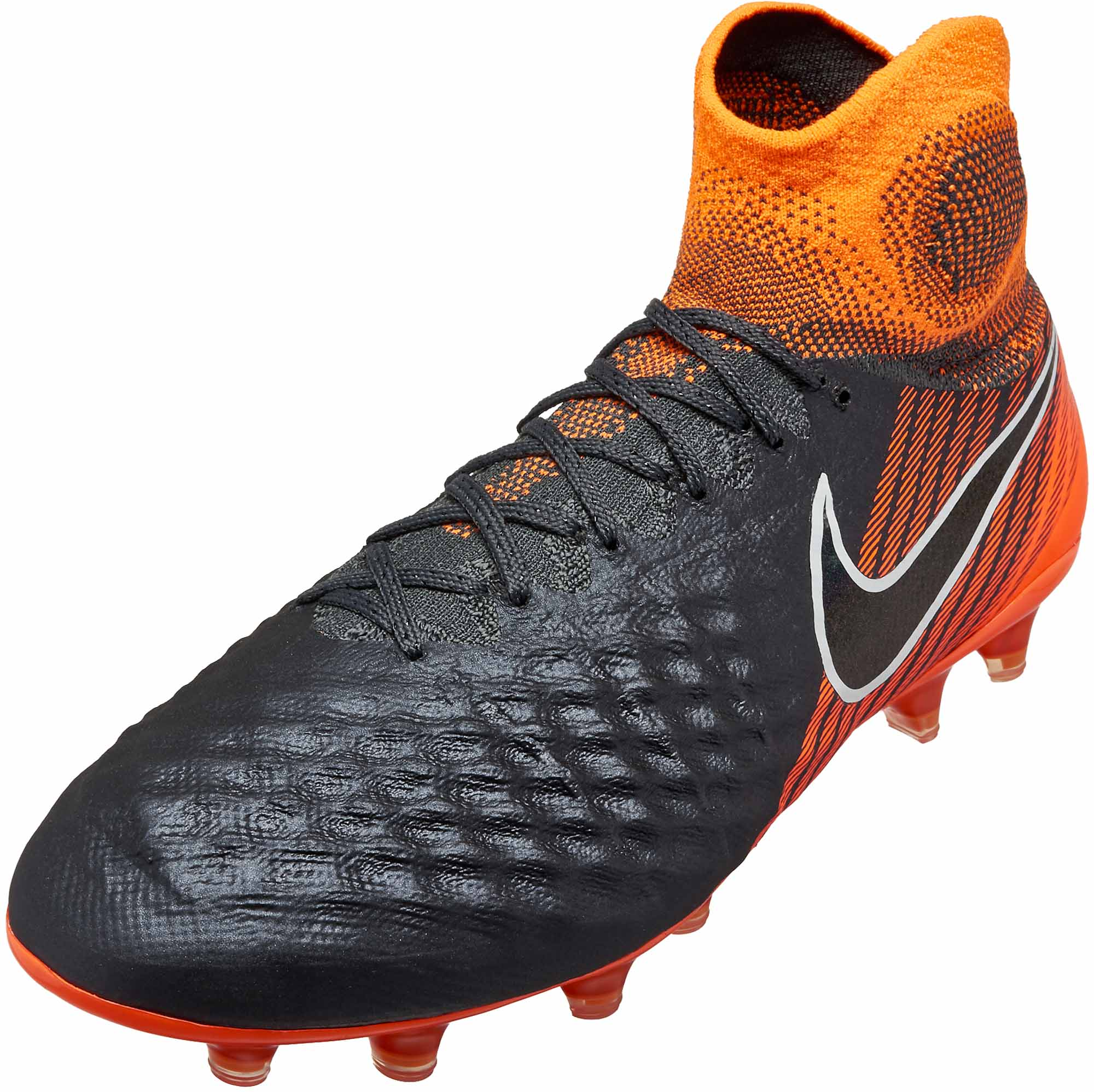 c6d3f1894a55 Nike Magista Obra 2 Elite DF FG – Dark Grey Total Orange