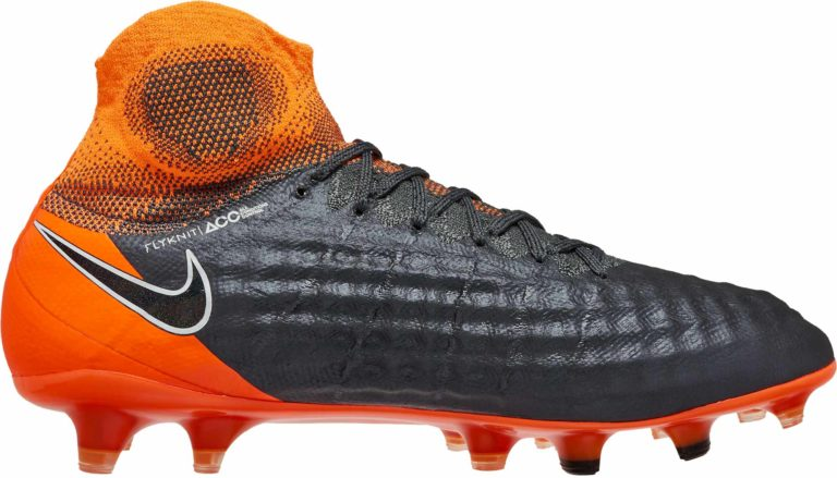 Nike Magista Obra 2 Elite DF FG – Dark Grey/Total Orange