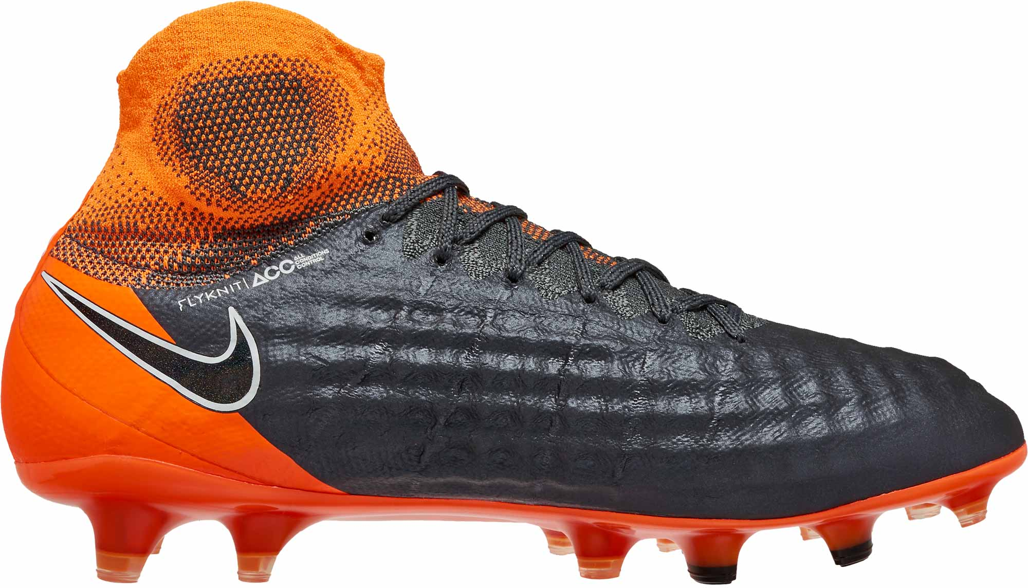 3a6e4ab48eab0 Nike Magista Obra 2 Elite DF FG – Dark Grey Total Orange