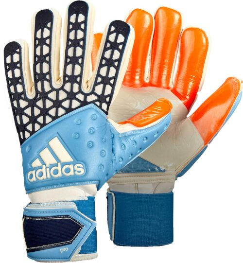 adidas ACE Zones Pro Goalkeeper Gloves – Manuel Neuer – Solar Red/Dark Blue