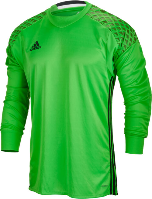 adidas Kids Onore 16 Goalkeeper Jersey – Solar Lime/Raw Lime