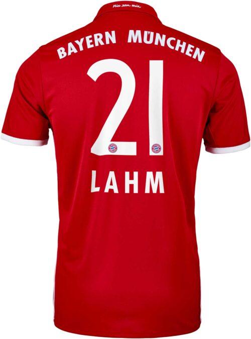 adidas Philip Lahm Bayern Munich Home Jersey 2016-17