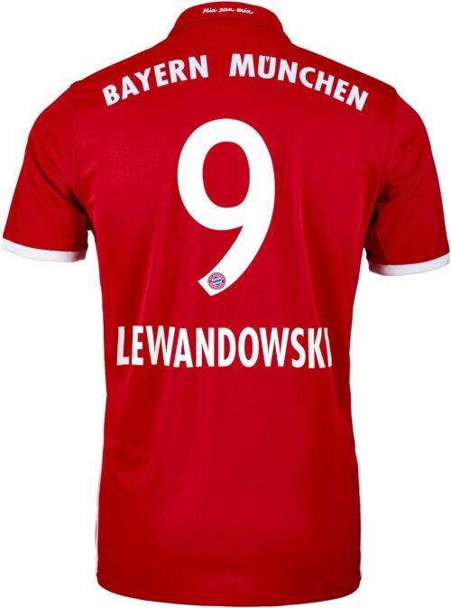 adidas Robert Lewandowski Bayern Munich Home Jersey 2016-17