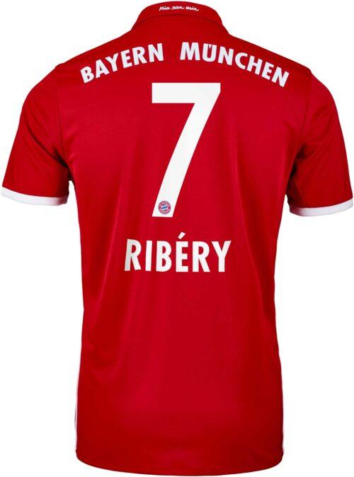 adidas Franck Ribery Bayern Munich Home Jersey 2016-17
