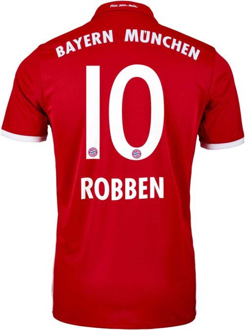 adidas Arjen Robben Bayern Munich Home Jersey 2016-17