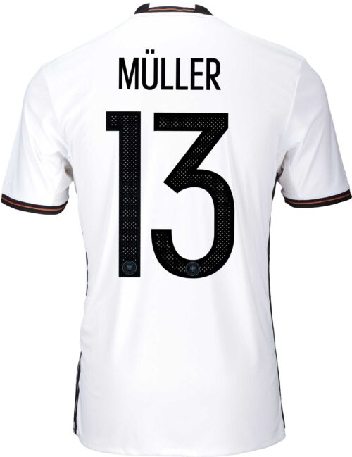 adidas Kids Thomas Muller Germany Home Jersey 2016-17