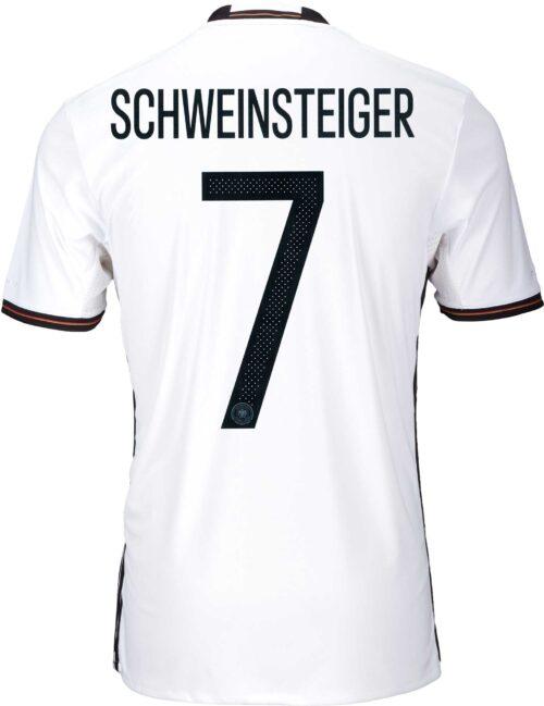 adidas Kids Bastian Schweinsteiger Germany Home Jersey 2016-17