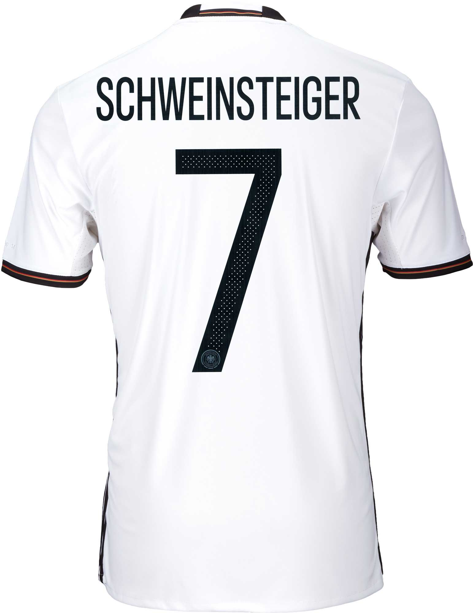 2be7f5e47e6 adidas Schweinsteiger Germany Home Jersey - 2016 Germany Jerseys