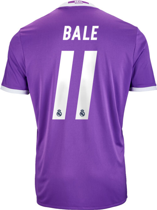 adidas Kids Gareth Bale Real Madrid Away Jersey 2016-17