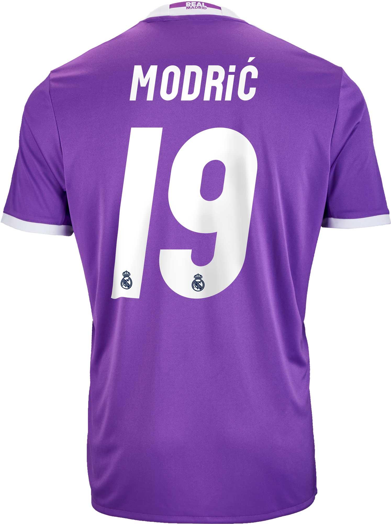 100% authentic e0b7c d53a4 adidas Luka Modric Real Madrid Jersey - 2016 Real Madrid Jerseys