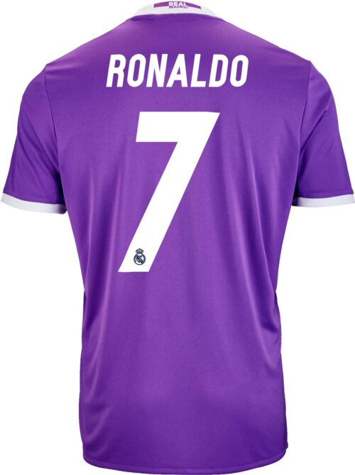 adidas Kids Cristiano Ronaldo Real Madrid Away Jersey 2016-17