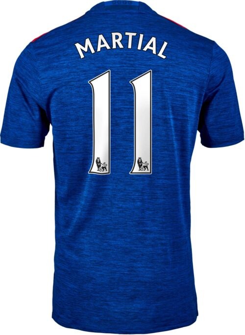 adidas Anthony Martial Manchester United Away Jersey 2016-17