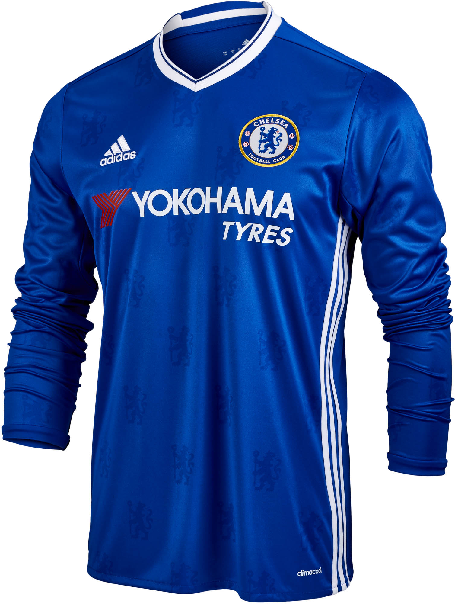 adidas Chelsea L S Home Jersey - 2016 Chelsea Soccer Jerseys 094a1e158