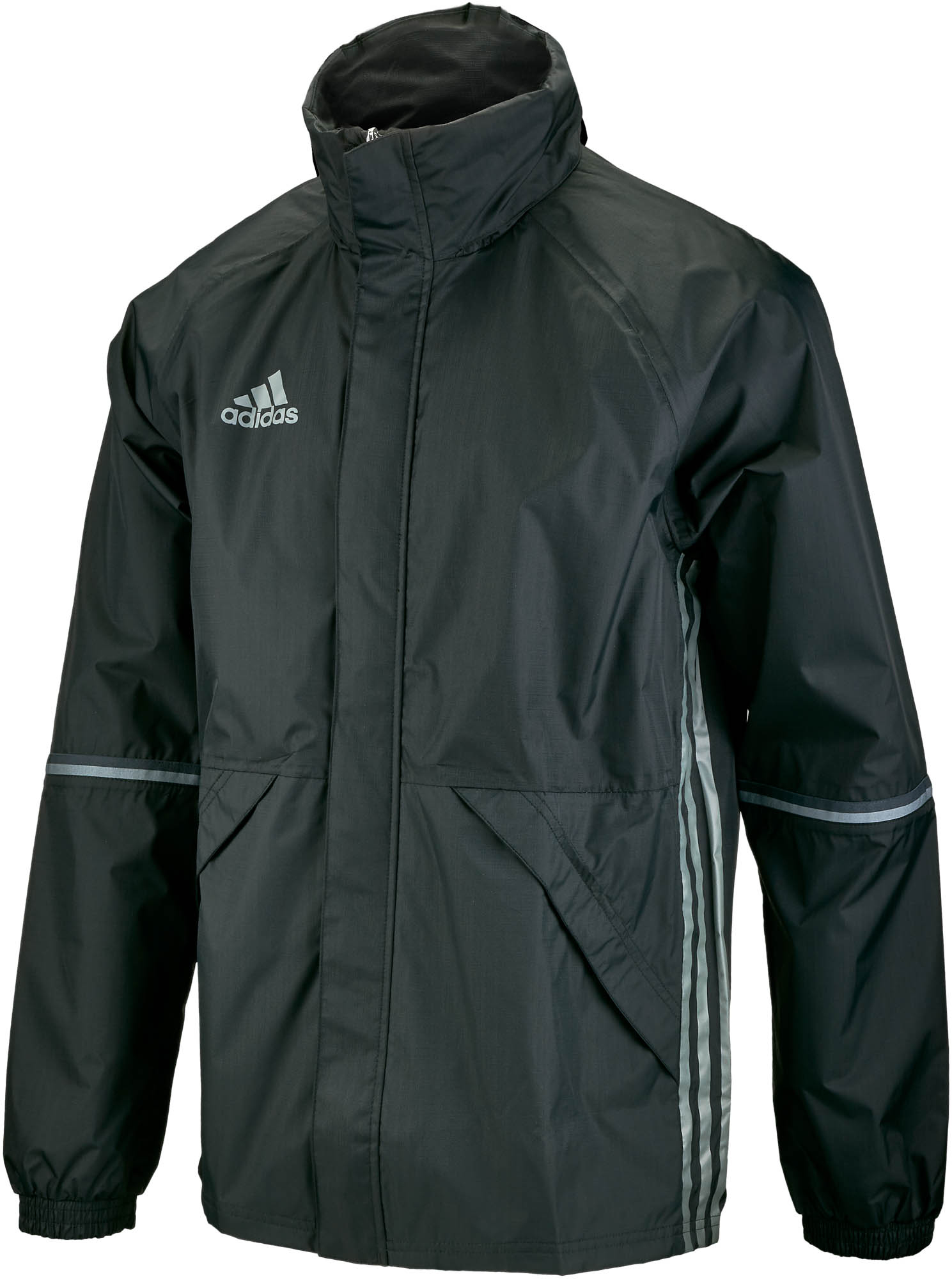 0b93a02aa984 adidas Condivo 16 Rain Jacket (seam sealed) – Black Vista Grey