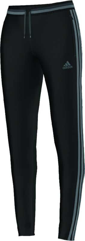 adidas Womens Condivo 16 Training Pant  – Black/Vista Grey