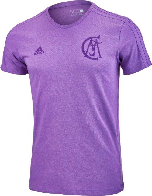 adidas Real Madrid Graphic Tee – Ray Purple Melange