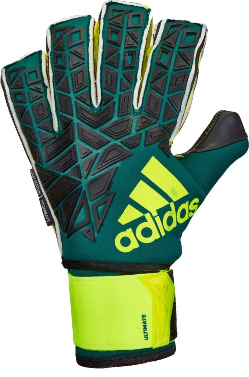adidas ACE Trans Ultimate Goalkeeper Gloves – Tech Green/Black