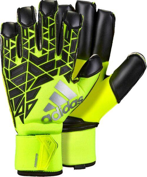 adidas ACE Trans Fingertip Goalkeeper Gloves – Solar Yellow/Black