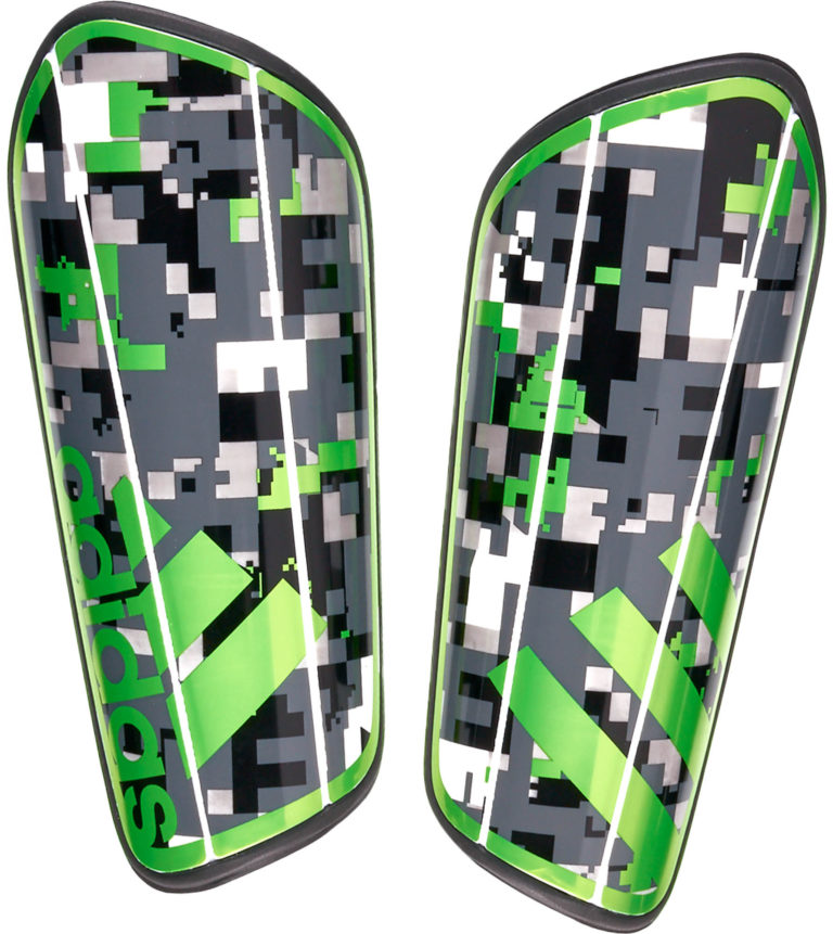 adidas Ghost Graphic Shinguard – Black/Ash