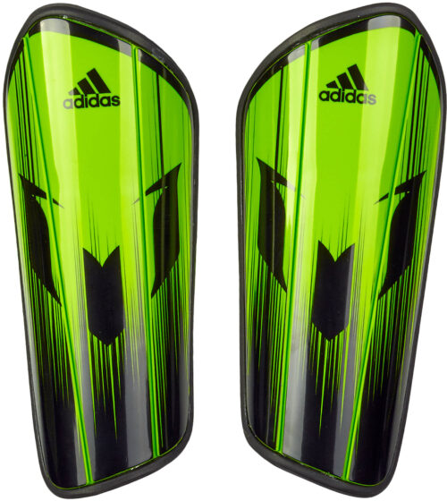 adidas Messi 10 Pro Shinguard – Semi Solar Slime/Black