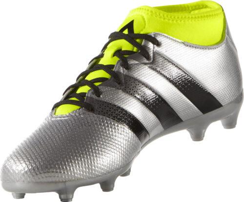 adidas ACE 16.3 Primemesh FG – Silver Metallic/Core Black