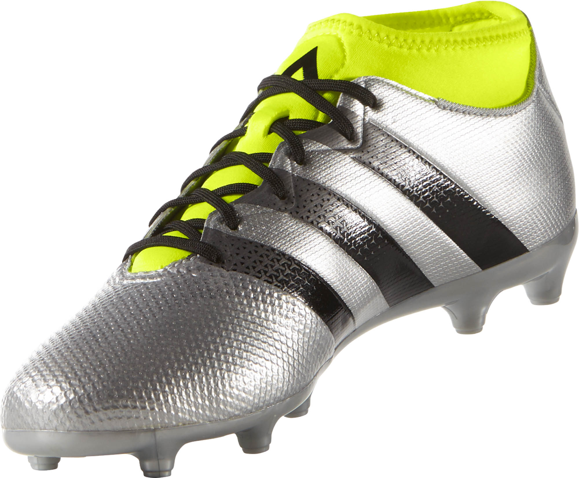 f9fe86843 adidas ACE 16.3 Primemesh FG Cleats - Silver adidas Soccer Shoes
