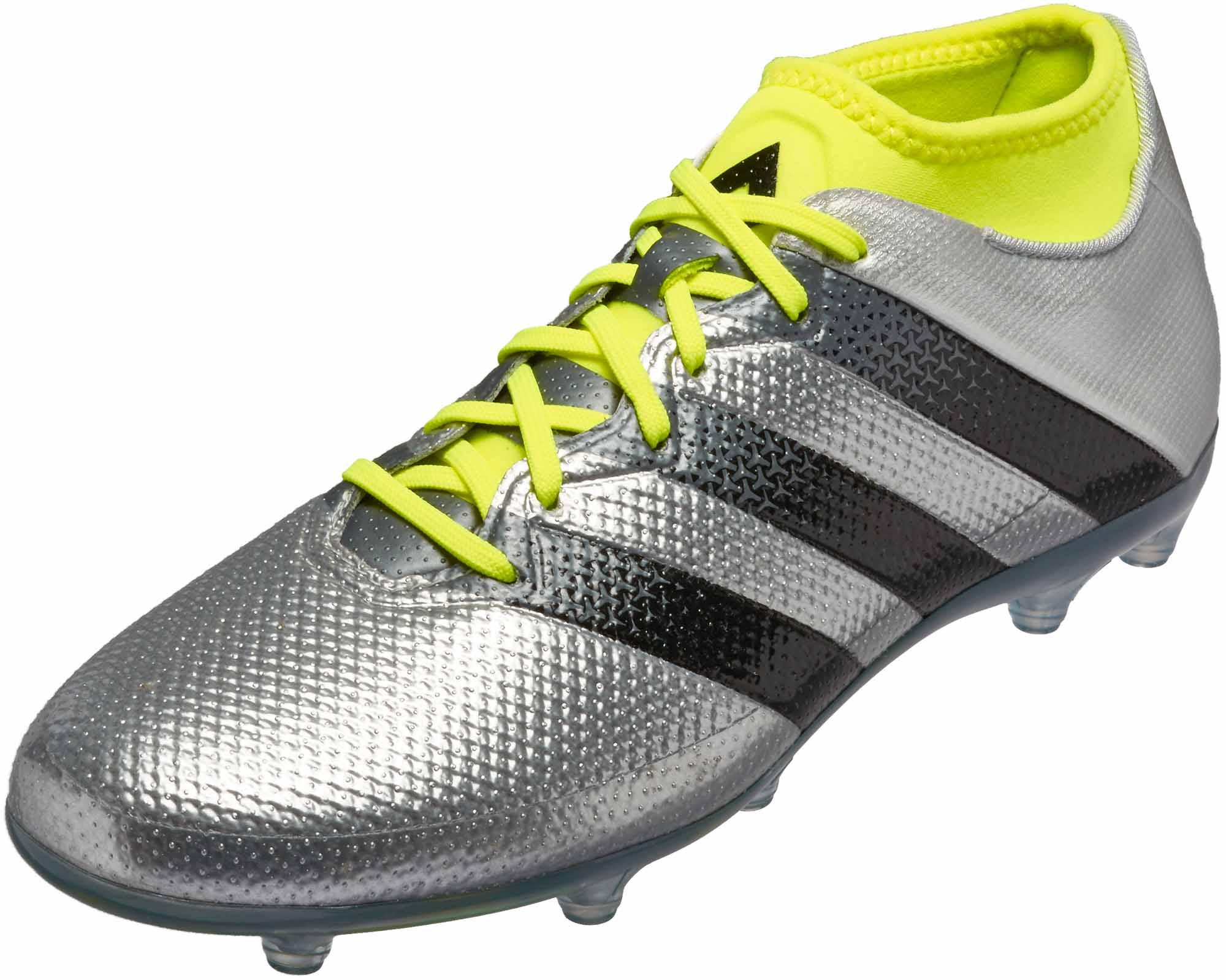best website 082ab 02d87 adidas ACE 16.2 Primemesh FG – Silver Metallic/Core Black