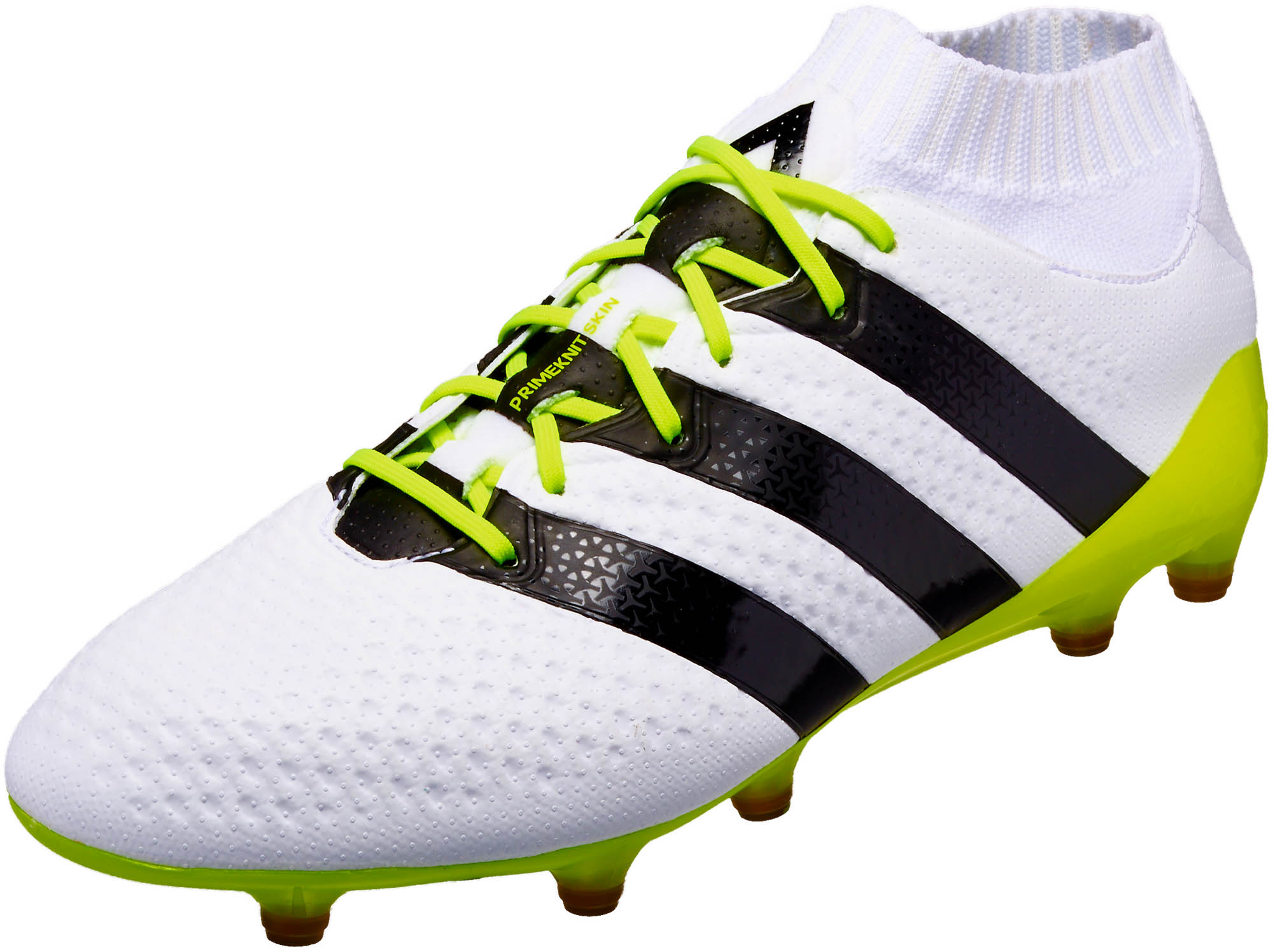 adidas Womens ACE 16.1 Primeknit FG/AG – White/Core Black