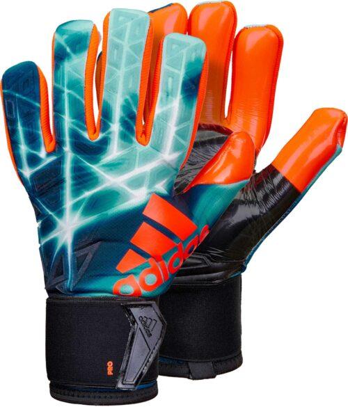 adidas ACE Trans Pro Goalkeeper Gloves – Manuel Neuer – Energy Blue/Black