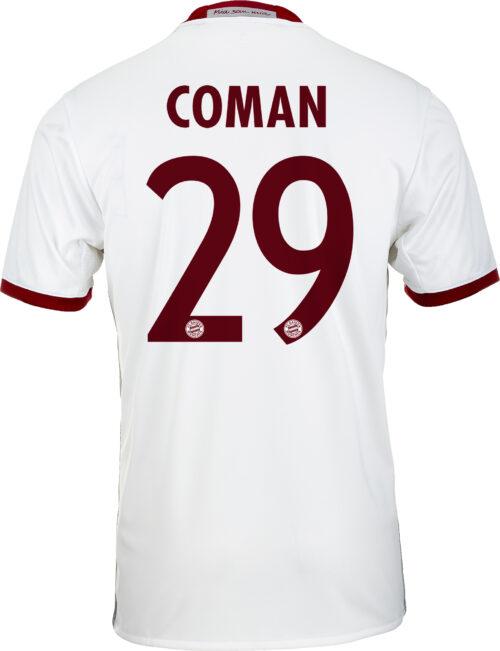 adidas Kingsley Coman Bayern Munich 3rd Jersey 2016-17