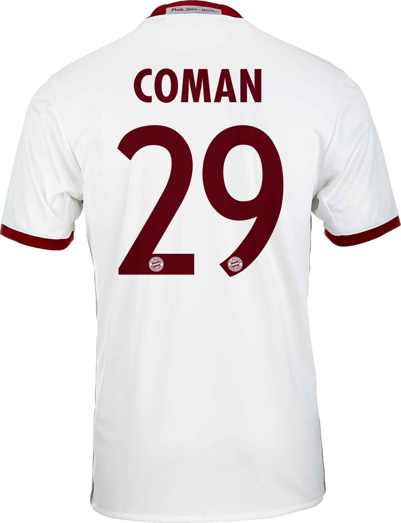 size 40 1da3c 722e5 adidas Coman Bayern Munich 3rd Jersey - Kingsley Coman Jerseys