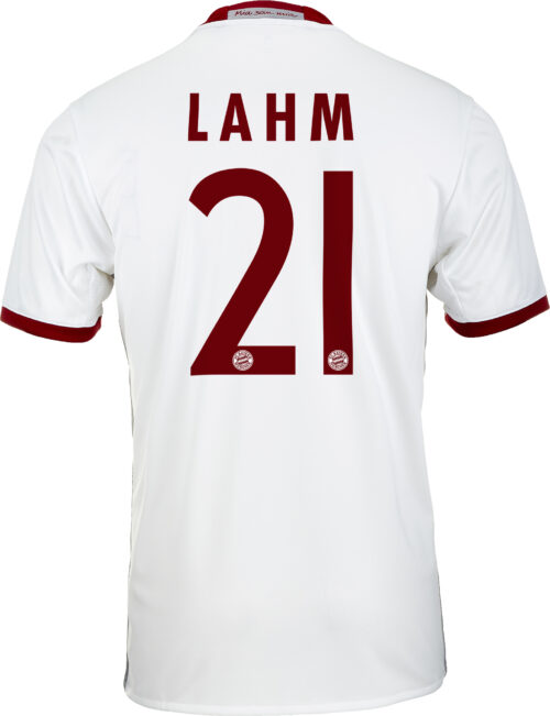adidas Philip Lahm Bayern Munich 3rd Jersey 2016-17