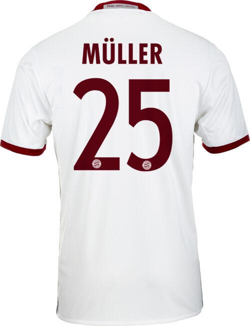 adidas Thomas Muller Bayern Munich 3rd Jersey 2016-17