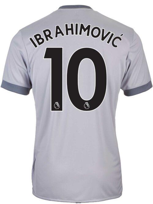 2017/18 adidas Kids Zlatan Ibrahimovic Manchester United 3rd Jersey