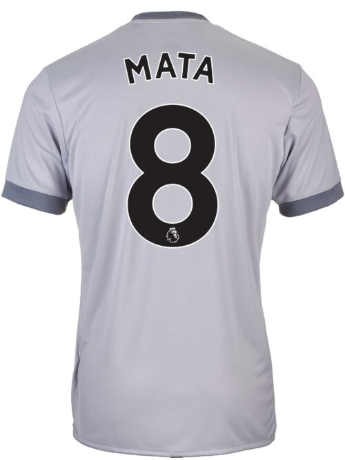 2017/18 adidas Kids Juan Mata Manchester United 3rd Jersey
