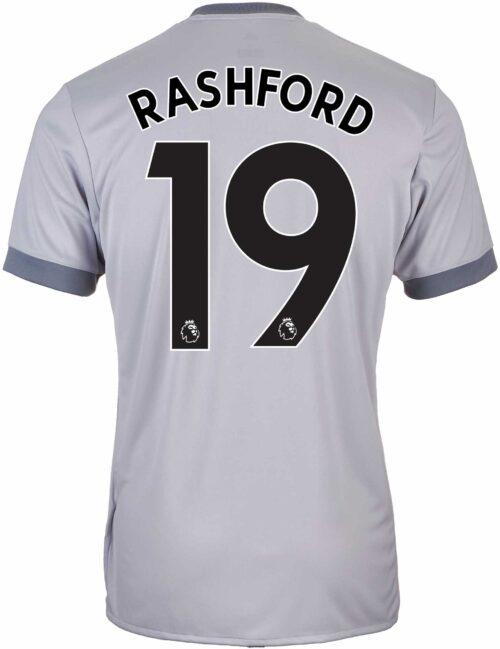 2017/18 adidas Kids Marcus Rashford Manchester United 3rd Jersey