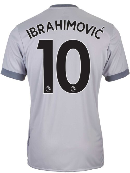 2017/18 adidas Zlatan Ibrahimovic Manchester United 3rd Jersey