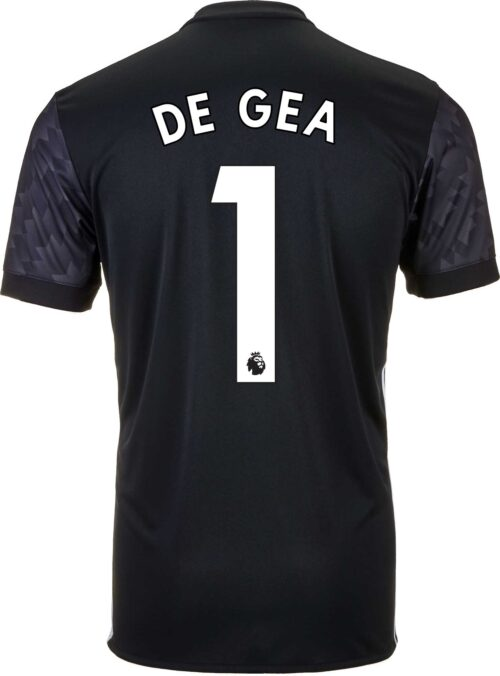 2017/18 adidas Kids David de Gea Manchester United Away Jersey