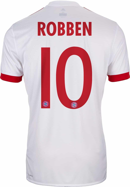1aa44da30cd1 2017/18 adidas Kids Arjen Robben Bayern Munich UCL Jersey - SoccerPro